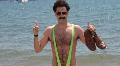 Seis turistas detenidos en Kazajistán por vestir el 'mankini' de Borat
