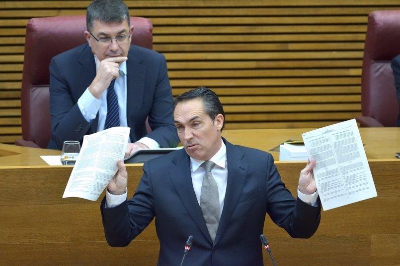 El PP desvela gastos de la caja fija del Consell en Martinis, 30 turrones gourmet por 200 euros y quitamanchas