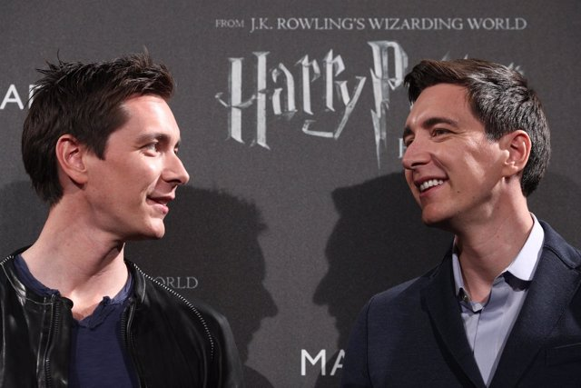 Los gemelos Phelps (Fred y George Weasley) inauguran \'Harry Potter ...