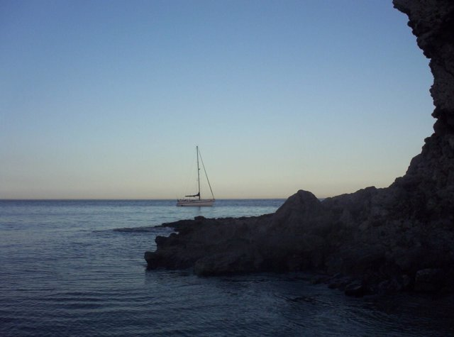 Playa de Los Muertos en Carboneras (Almería)