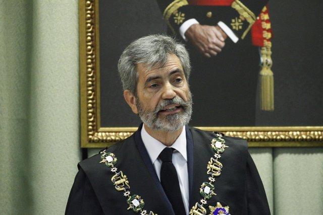 Carlos Lesmes en la apertura del Año Judicial Militar