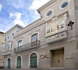 Fachada cal málaga centro andaluz letras cultura