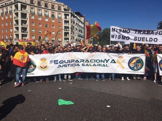 Protesta de Jusapol