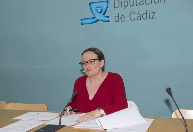 Encarnación Niño, diputada provincial en Cádiz