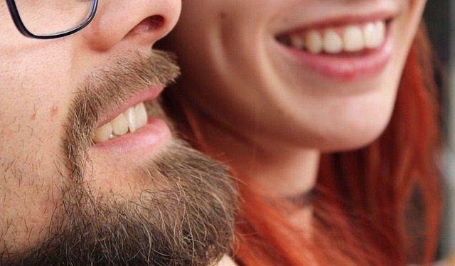 Boca, dientes, barba