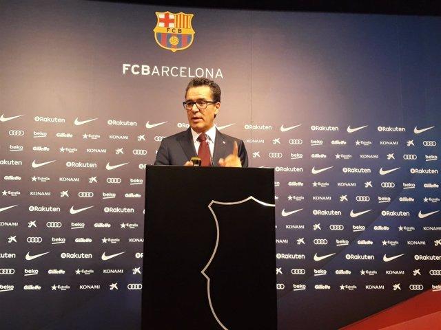 El portavoz del FC Barcelona, Josep Vives