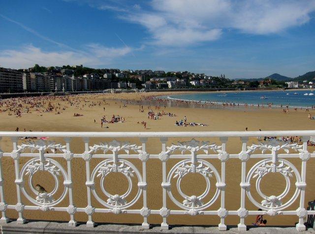 Playa de la Concha de San Sebastián