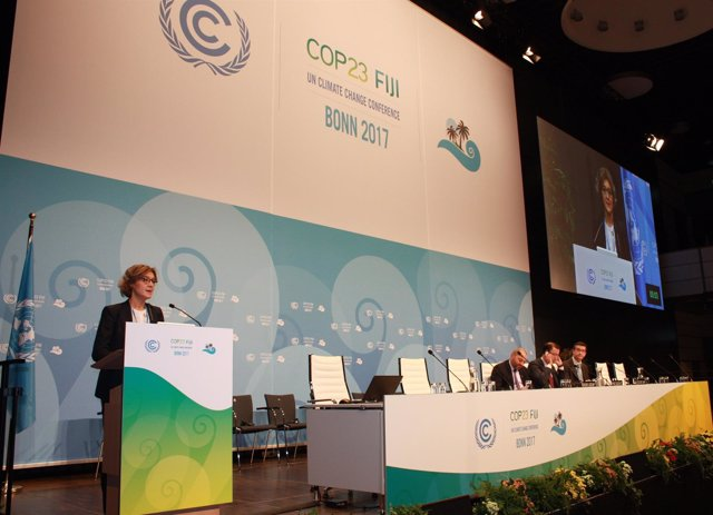 La ministra Isabel García Tejerina interviene en la COP23