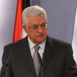 El presidente de Palestina, Mahmud Abbas, en Moncloa