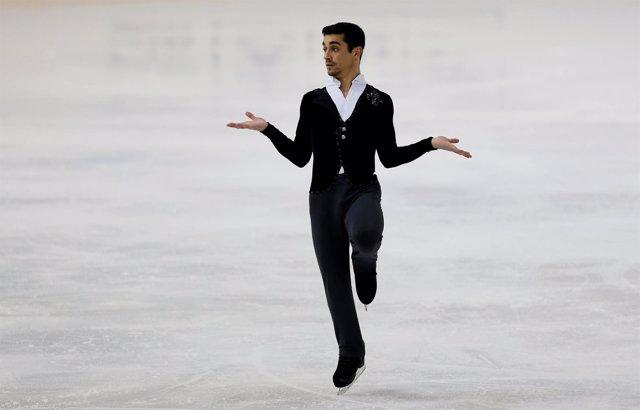El patinador español Javier Fernández
