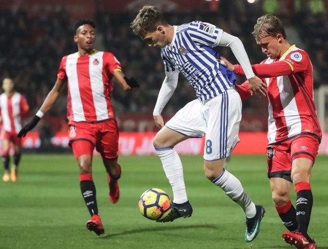 Januzaj Girona Real Sociedad