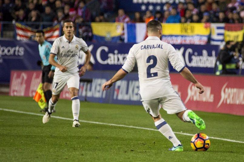 Zidane recupera a Carvajal y a Mayoral y prescinde de Achraf y Llorente para el derbi