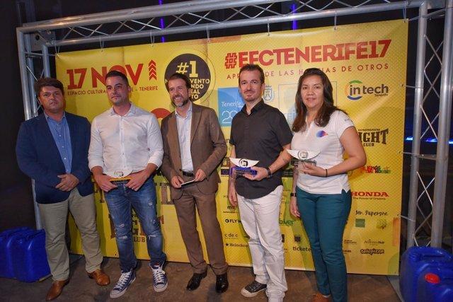 Nota De Prensa Y Fotografías: Innovación Tenerife Invierte Gold Edition 2017