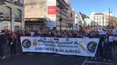 """Milers de policies i guàrdies civils demanen """"equiparació salarial"""" respecte als Mossos d'Esquadra i la resta de cossos (EUROPA PRESS)"""