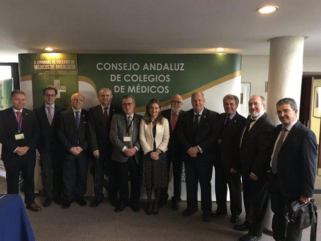 V Jornadas de Colegios de Médicos de Andalucía en Jerez de la Frontera