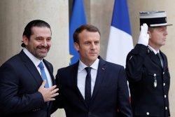 Hariri assegura des de París que esclarirà la seva situació a Beirut en els propers dies (REUTERS / GONZALO FUENTES)