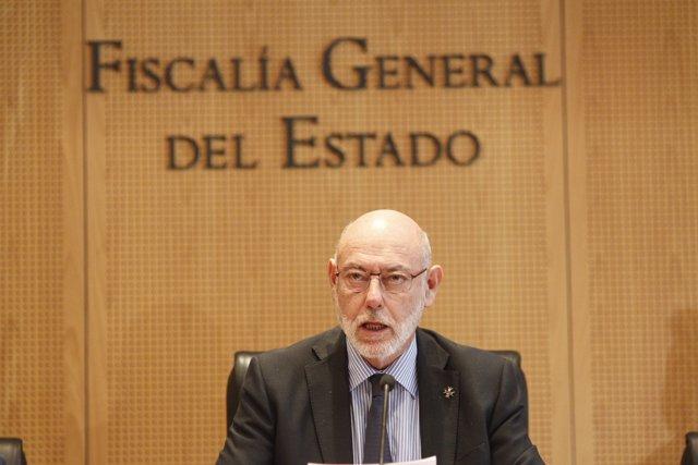 El fiscal general de l'Estat, José Manuel Maza