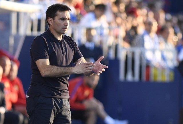 El entrenador del Leganés, Asier Garitano