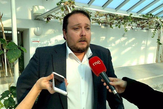Rubén Gómez, diputado de Cs Cantabria