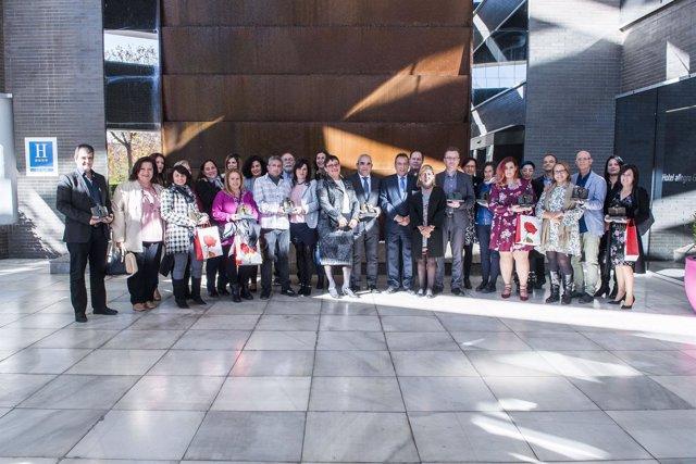Foto de familia de los XV Premios Codapa