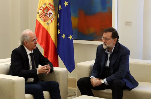 Rajoy y Antonio Ledezma