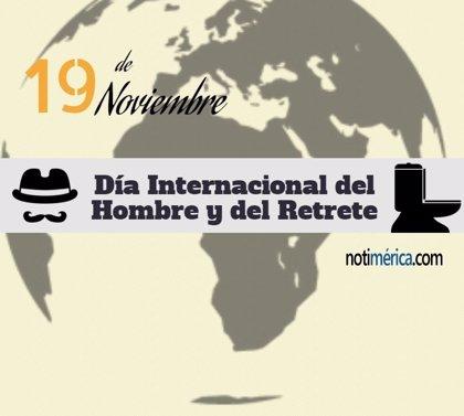 ¿Sabías que el Día Internacional del Hombre y el Día Internacional del Retrete coinciden en la misma fecha?