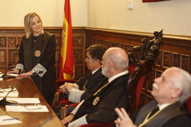 Toma de posesión de la fiscal superior de Andalucía, Ana Tárrago