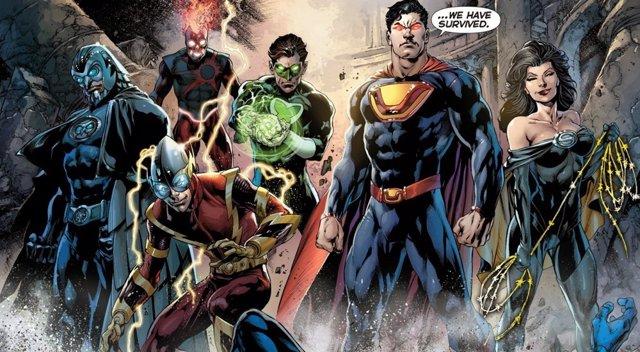 10 Oscuras Versiones De Liga De La Justicia