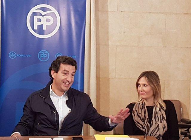 Biel Company y Maria Agnès Sampol