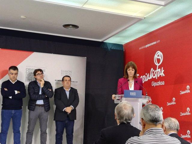 Inauguración de 'Caminos de libertad 1977-2017'.