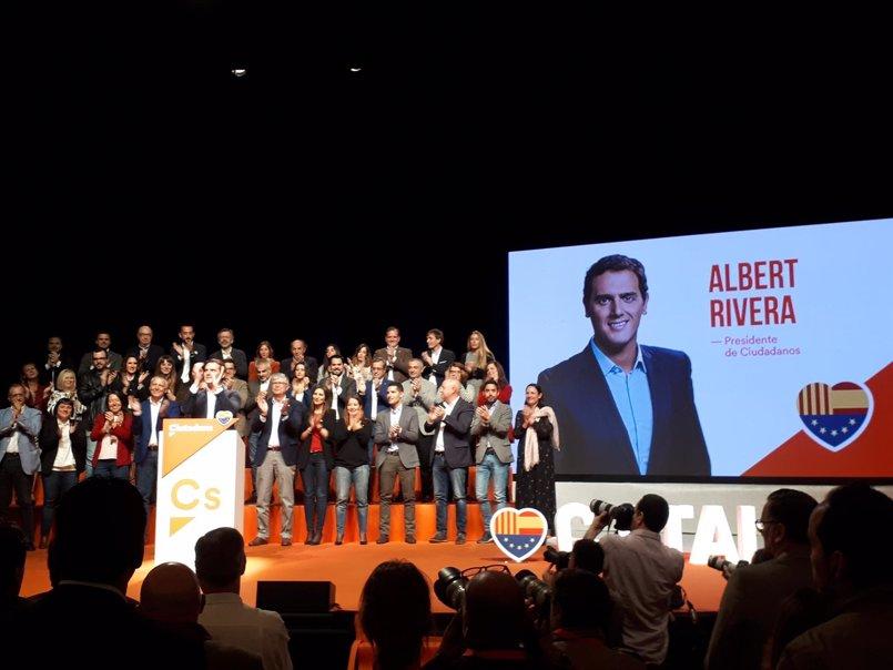 Rivera defiende un proyecto común para España para poner fin al nacionalismo