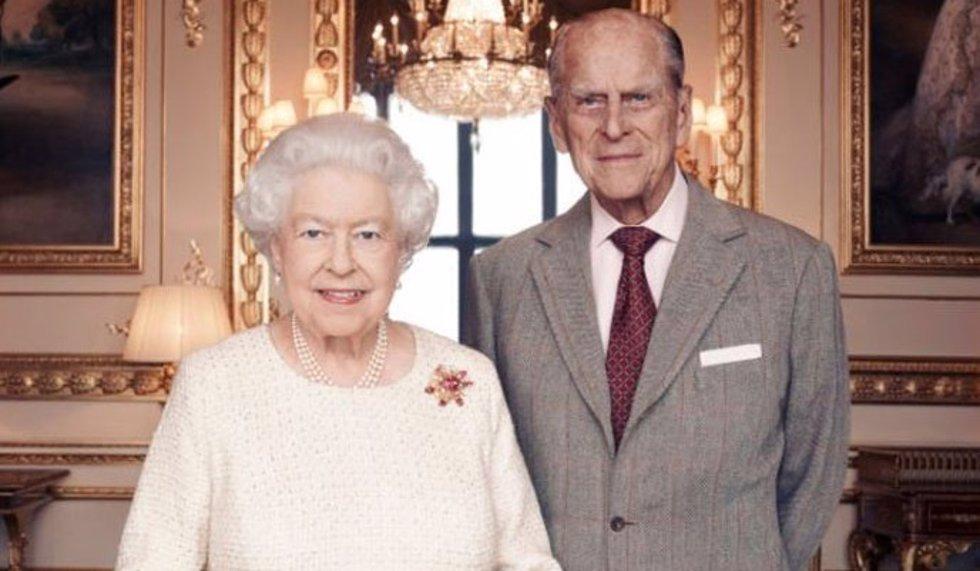 Reina Isabel II y Duque de Edimburgo