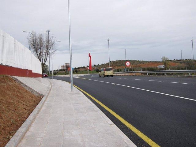 Una carretera de Toledo