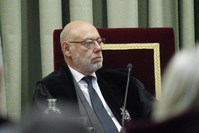 José Manuel Maza en la apertura del Año Judicial Militar