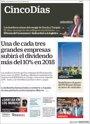 Foto: Las portadas de los periódicos económicos de hoy, lunes 20 de noviembre