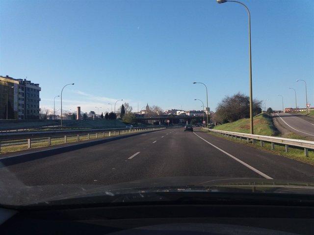 Carreteras asturianas, autopista Y, autovía, accesos Oviedo