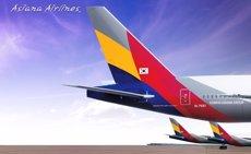 Asiana Airlines ultima la connexió Barcelona-Seül a partir del 30 d'agost (CEDIDA)