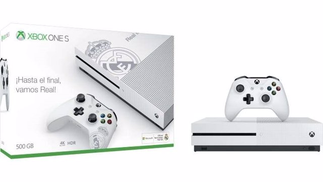 Xbox One S Edición Real Madrid