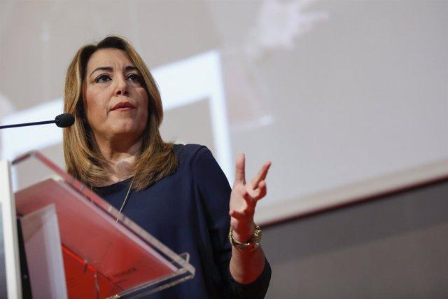 La presidenta de la Junta, Susana Díaz, participa en el Foro Ideal de Granada
