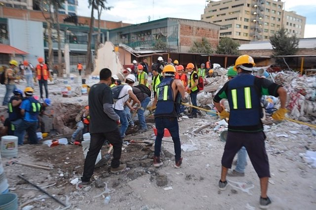 Terremoto en Puebla (México) 2017