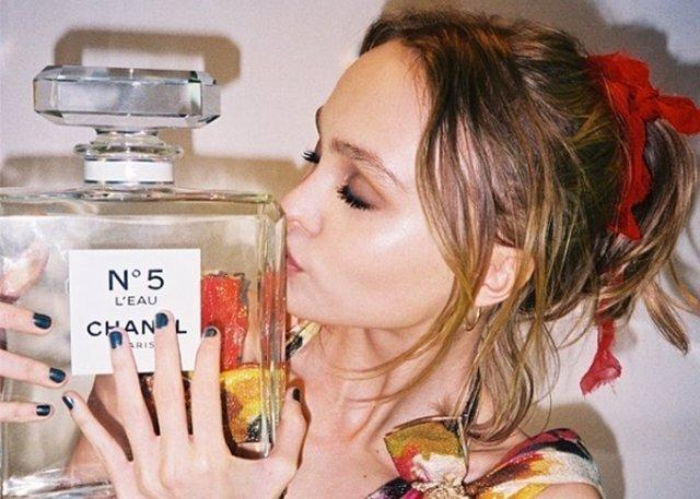 La actriz convertida en nueva imagen del perfume Nº5 L' EAU de Chanel