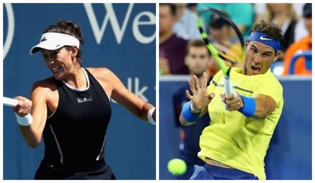 Nadal y Muguruza, primer y tercer cabeza de serie en el US Open