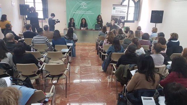 La directora del IAM en Huelva, Eva Salazar.