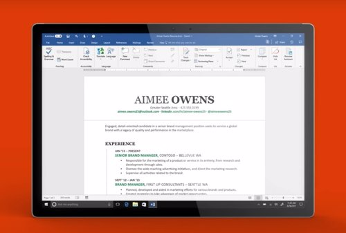 Resume Assistant para Microsoft Word