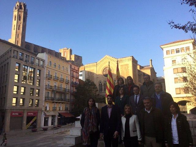 Candidatos del PP al Parlament por Lleida