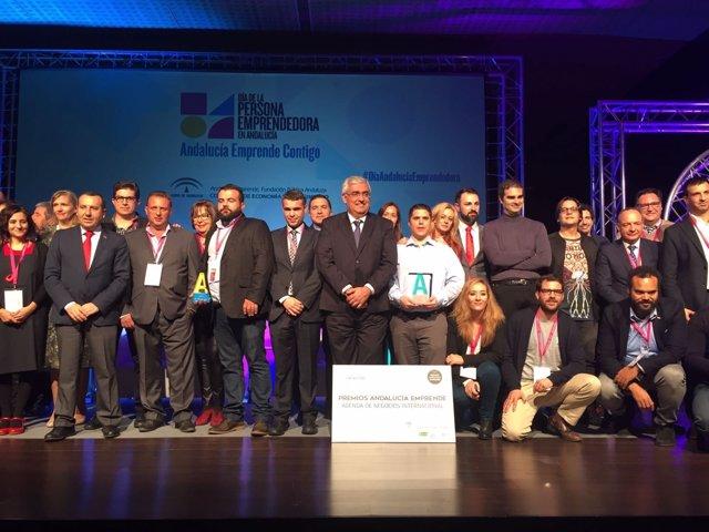 Edición 2016 del Día de la Persona Emprendedora en Andalucía.