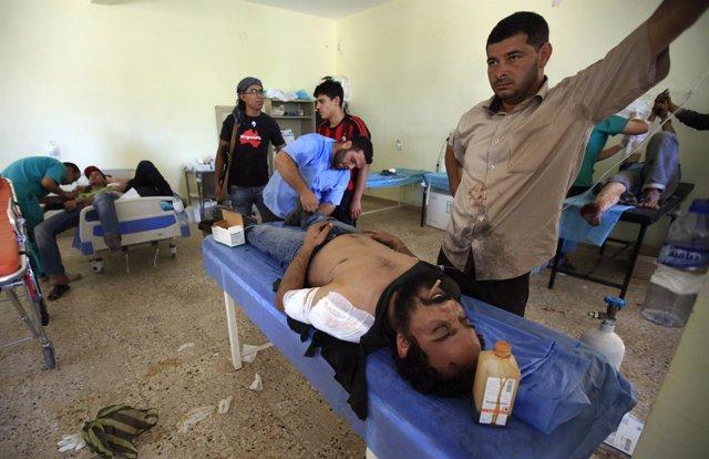 Hospital De Campaña En Libia