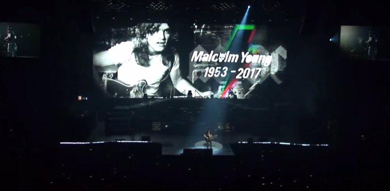 """VÍDEO: Guns n' Roses recuerdan a Malcolm Young: """"Será profundamente añorado"""""""