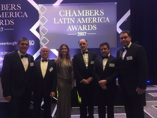 Garrigues, premios Chambers 2017