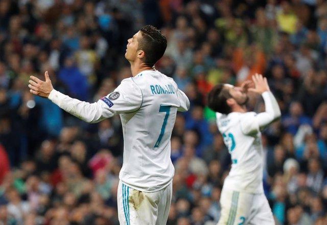 Real Madrid Tottenham Cristiano Ronaldo
